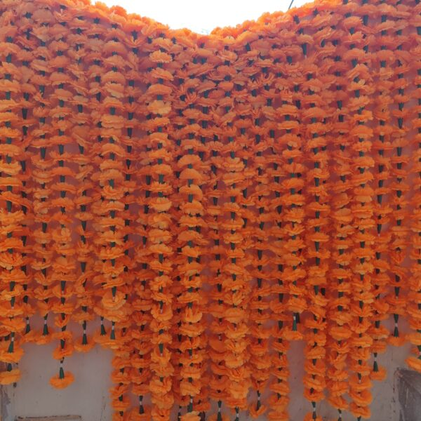 Marigold Garlands Indian Wedding